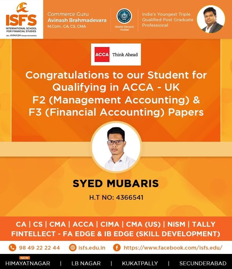 Syed Mubaries