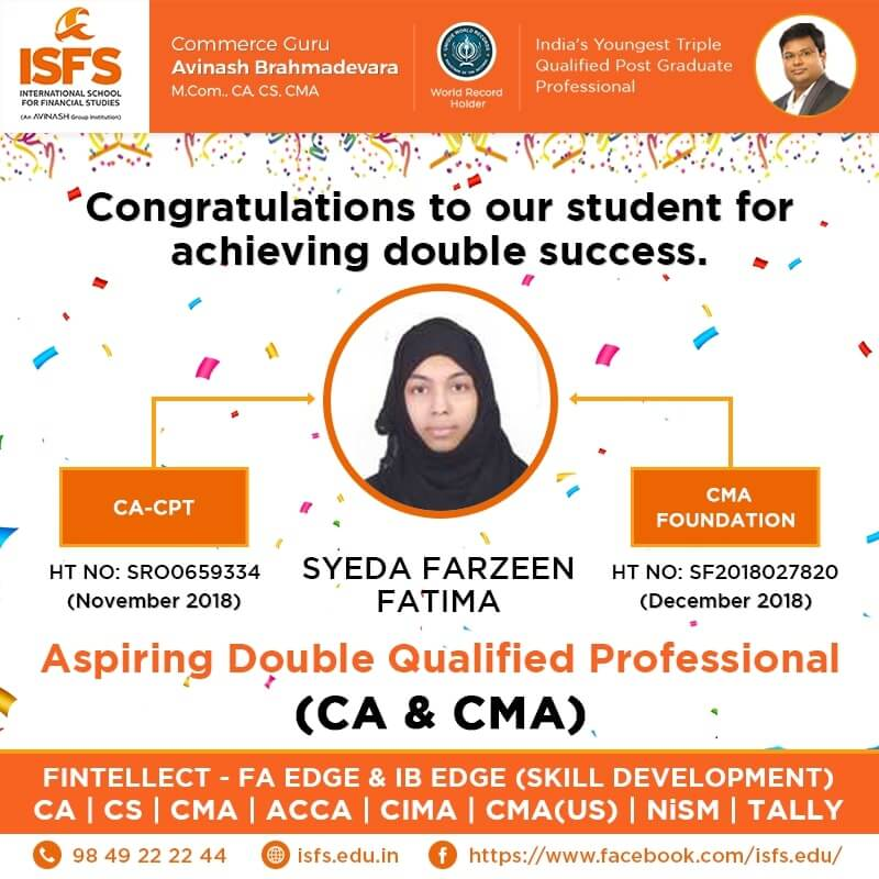 Syed Farzeen Fatima