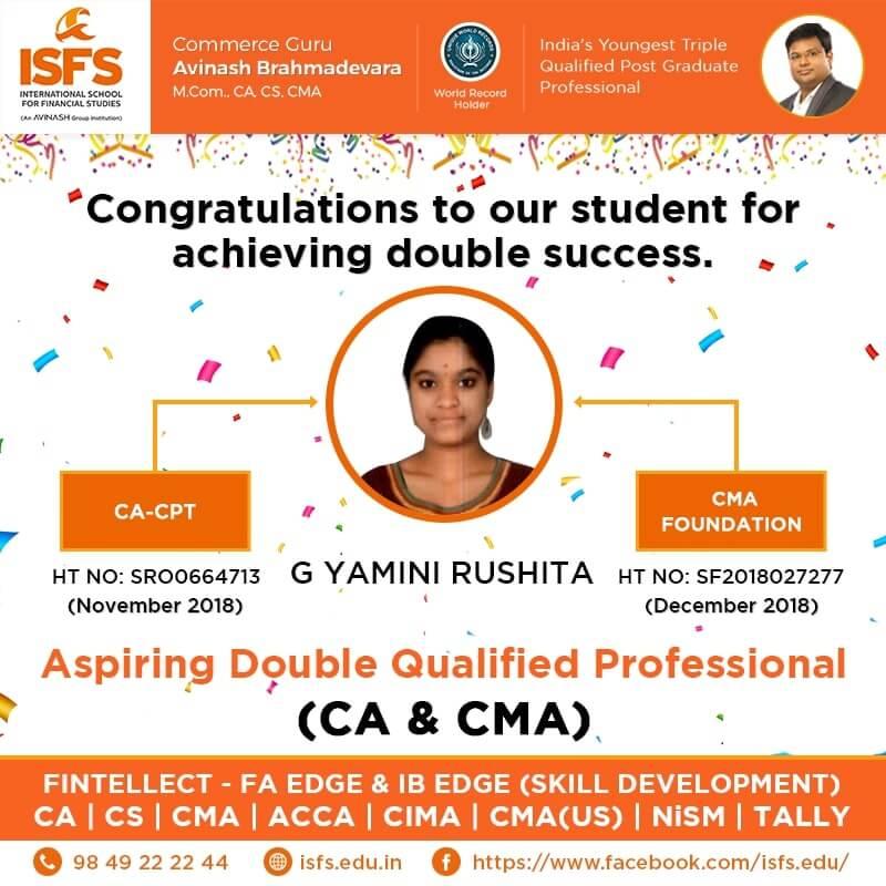 G Yamini Rushitha