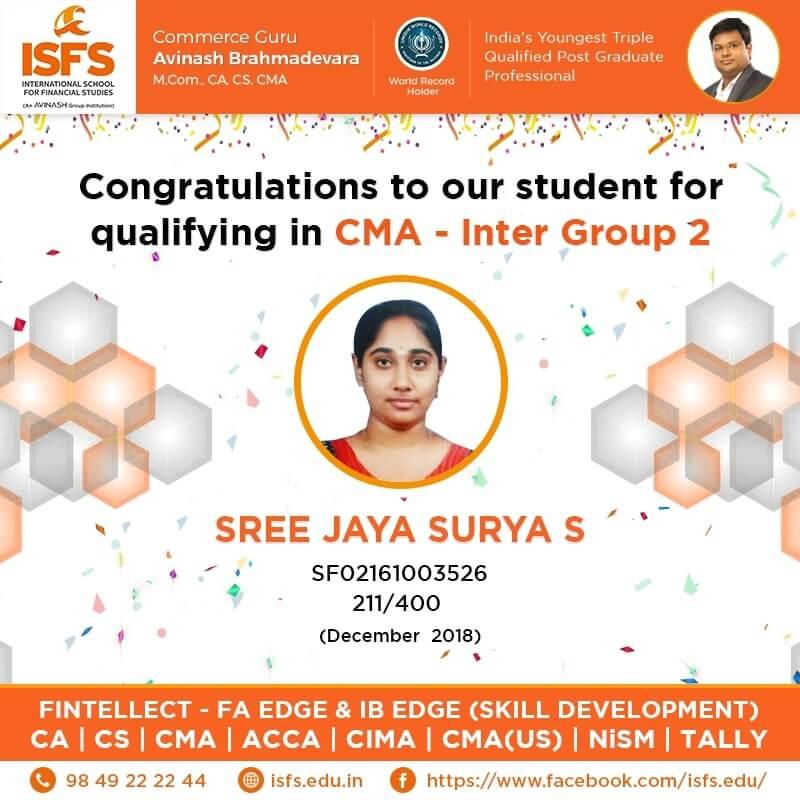 Sree Jaya Surya S