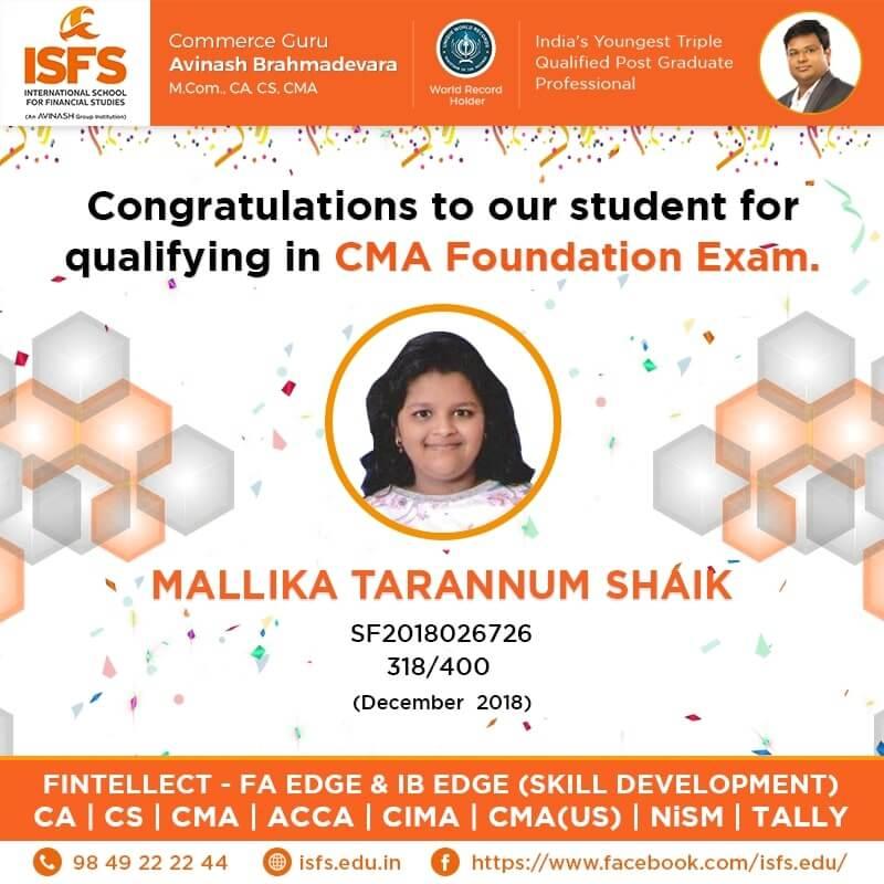 Mallika Sharannum Shaik