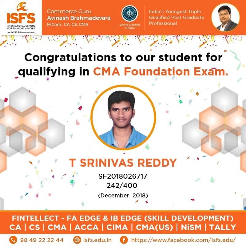 T Srinivas Reddy