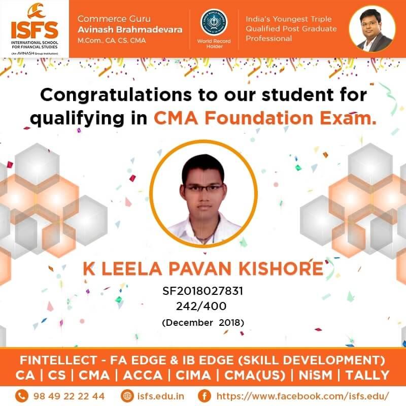 K Leela Pavan Kishore