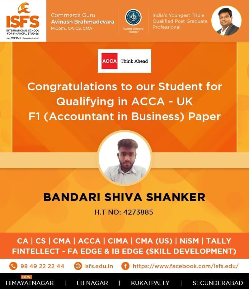 B Shiva Shanker