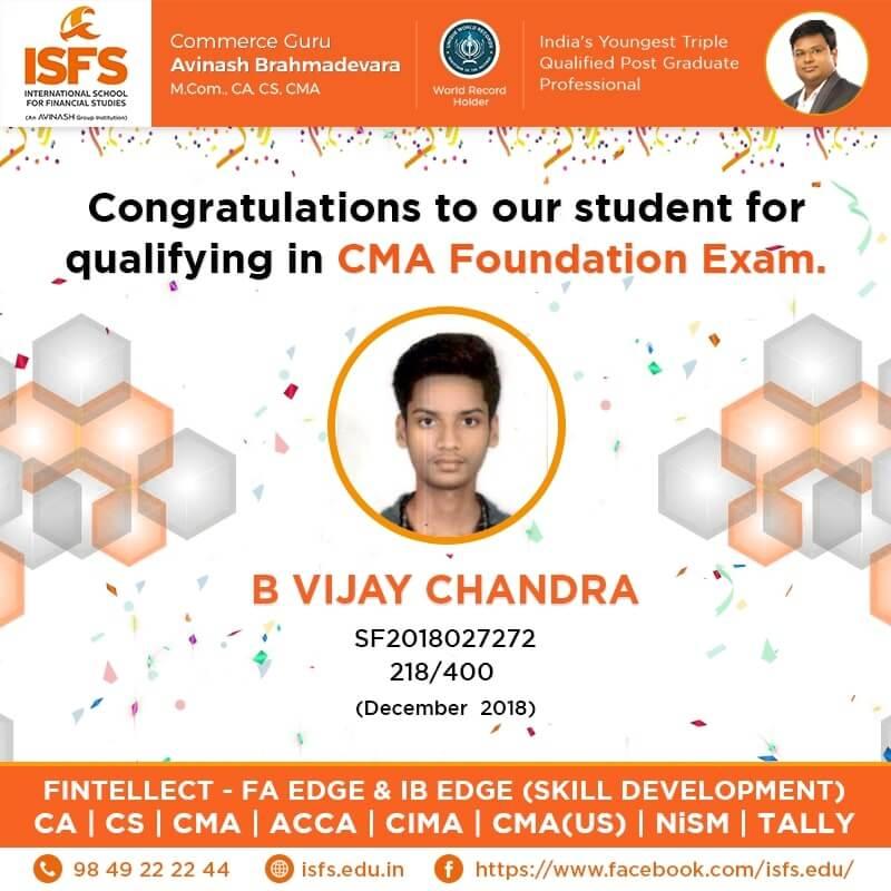 B Vijay Chandra
